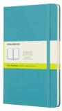 Moleskine - zápisník tvrdý, čistý, modrozelený L - Moleskine