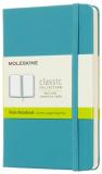 Moleskine - zápisník tvrdý, čistý, modrozelený S - Moleskine