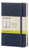 Moleskine - zápisník tvrdý, čistý, modrý S - Moleskine