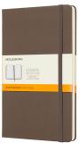 Moleskine - zápisník tvrdý, linkovaný, hnědý L  - Moleskine