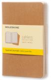 Moleskine Sešity 3 ks karton S, čtverečkované - Moleskine