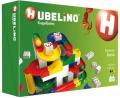 HUBELINO Kuličková dráha - set s kostkami Basic 123 ks -