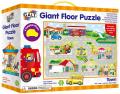 Velké podlahové puzzle - Město - Galt