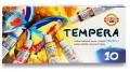Souprava temperových barev 10 barev 162548 - KOH-I-NOOR