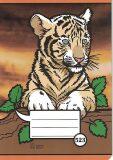 Školní sešit 523, A5 linkovaný, zvířátka - OPTYS