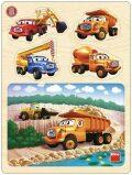 Tatra - dřevěné puzzle v lomu - Dino Toys
