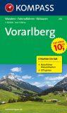VORARLBERG 2 MAPY 1:50 000 - KOMPASS-Karten GmbH