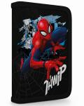 Penál 1 p. 2 chlopně, prázdný Spiderman - Karton P+P