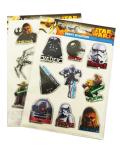 Samolepky dekorační Star Wars - Karton P+P