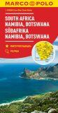 Afrika - jih, Namibie, Botswana 1:2M   MD - Marco Polo