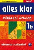 Alles klar 1b - učebnice + cvičebnice - Krystyna Luniewska