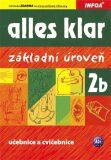 Alles klar 2b - učebnice + cvičebnice - Krystyna Luniewska