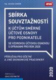 Sbírka souvztažností k účtům směrné účtové osnovy se vzorovou účtovou osnovou s opravami pro rok 2020 - Jaroslav Jindrák