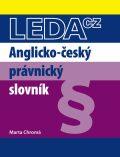 Anglicko-český právnický slovník - Marta Chromá