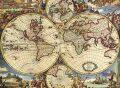Anonimo: Mapa Světa - Puzzle/1000 dílků - Ricordi