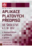 Aplikace platových předpisů ve školství k 1. 10. 2012 - Jiří Valenta