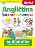 Audiokniha - Angličtina - Barevná konverzace + mp3  CD - Pavlína Šamalíková