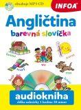 Audiokniha - Angličtina - Barevná slovíčka + mp3  CD - Pavlína Šamalíková