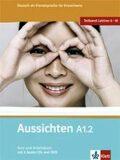 Aussichten A1.2 Kurs-und Arbeitsbuch + CD + DVD - El-Ros L. Hosni