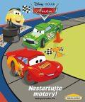 Auta - Nastartujte motory! Našlapaná knížka her! - Disney Pixar