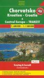Automapa Chorvatsko a Střední Evropa tranzit 1:600 000 - Freytag & Berndt