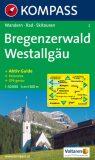 Bregenzerwald Westallgäu 2 / 1:50T NKOM - KOMPASS-Karten GmbH