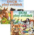 Balíček 2ks Dům plný zvířátek + Dvůr plný zvířátek - Josef Pospíchal