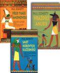 Balíček 3ks Před tváří Amonovou+Smrt Horových služebníků+Vraždící Anubis - Paul Doherty