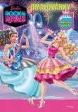 Barbie - Rock´n Royals - Omalovánky - Samolepky uvnitř! - Mattel