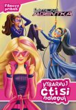 Barbie - Tajná agentka - Filmový příběh - Vybarvuj, čti si, nalepuj - Mattel