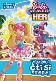 Barbie Ve světě her Vybarvuj, čti si, nalepuj - autora nemá