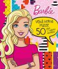 Barbie Velká kniha puzzle - autora nemá