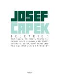 Beletrie 1 - Josef Čapek
