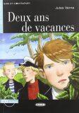 Black Cat Lire et s´entrainer Niveau deux A2: Deux ans de vacances + CD Audio - Jules Verne
