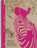 Blok A4 Reverse Zebra,čtvereček, spirála, 80listů - Kanorg