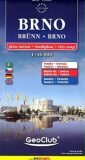 Brno plán města 1:16 000 - neuveden