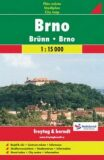 Brno plán města 1:15 000 - SHOCART