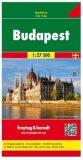 Budapešť 1:27 500 - Freytag & Berndt