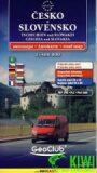 ČESKO A SLOVENSKO 1:500 000 - GeoClub
