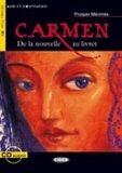 Carmen + Cd (Black Cat Readers FRA Level 3) - Prosper Mérimée