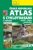 Atlas ČR s cyklotrasami 2018 -