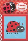 Chrastící barevná zvířátka Červená - YoYo Books
