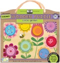 Circle Garden Chunky Wooden Puzzle - Innovative Kids