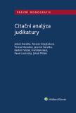 Citační analýza judikatury - autorů kolektiv
