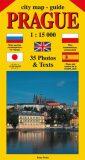 City map - guide PRAGUE 1:15 000 (angličtina, ruština, španělština, polština, japonština) - Jiří Beneš