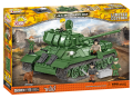 COBI 2524 Tank T34/85 RUDY 102 Čtyři z tanku a pes - Cobi