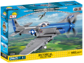 Cobi 5536 SMALL ARMY - II WW North American P-51D Mustang, 265 k, 1 f -
