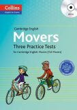 COLLINS English for Exams - Cambridge English: Movers Three Practice Tests with MP3 CD (do vyprodání zásob) - HarperCollins