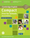 Compact First for Schools Student´s Book without Answers with CD-ROM - Barbara Thomas