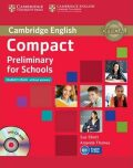 Compact Preliminary for Schools Students Book without Answers with CD-ROM - Amanda Thomas, Sue Elliott